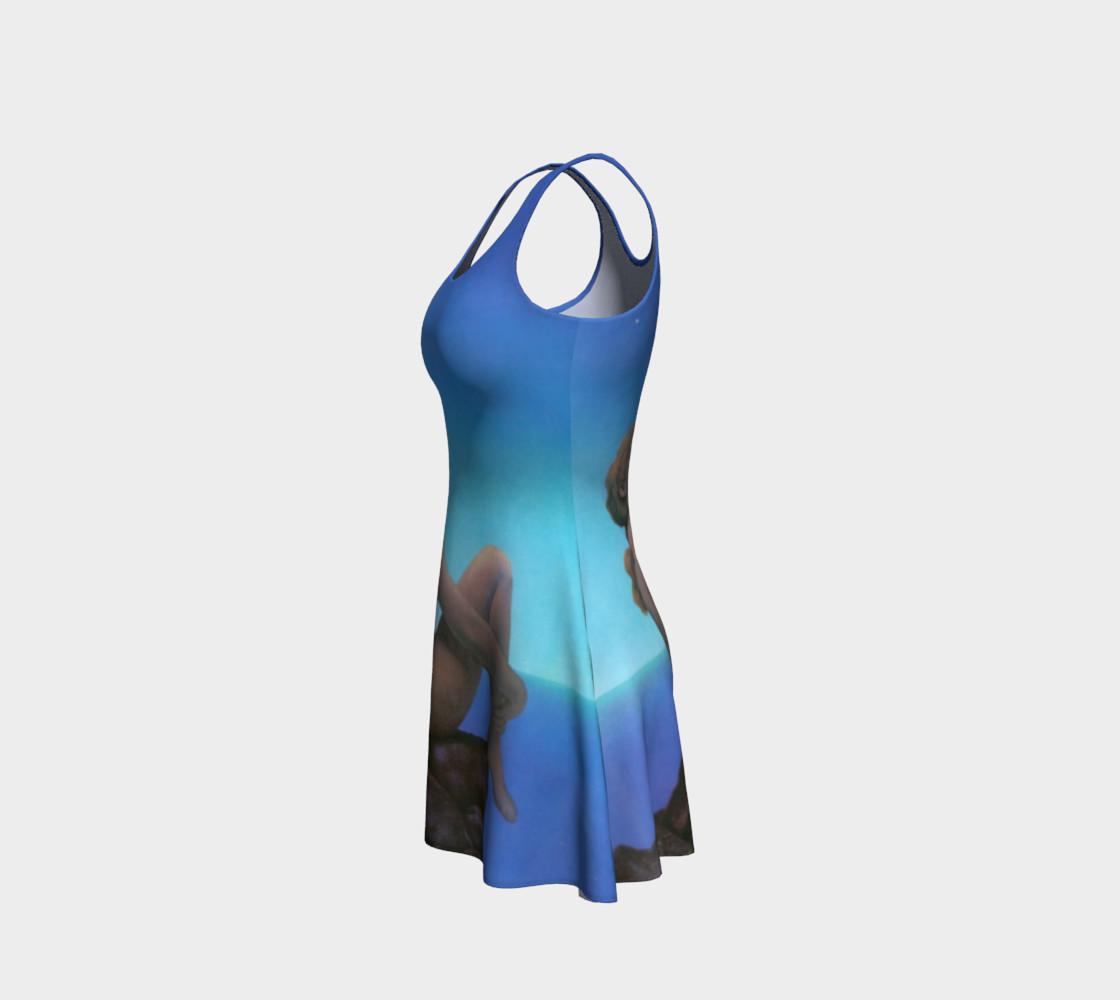 Aperçu de Maxfield Parrish Stars Flare Dress #2