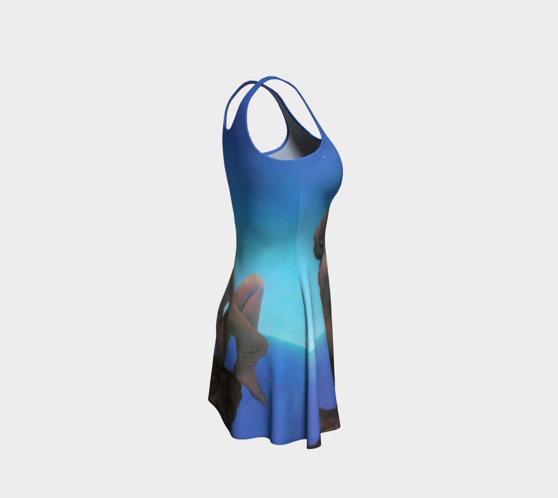 Aperçu de Maxfield Parrish Stars Flare Dress #4