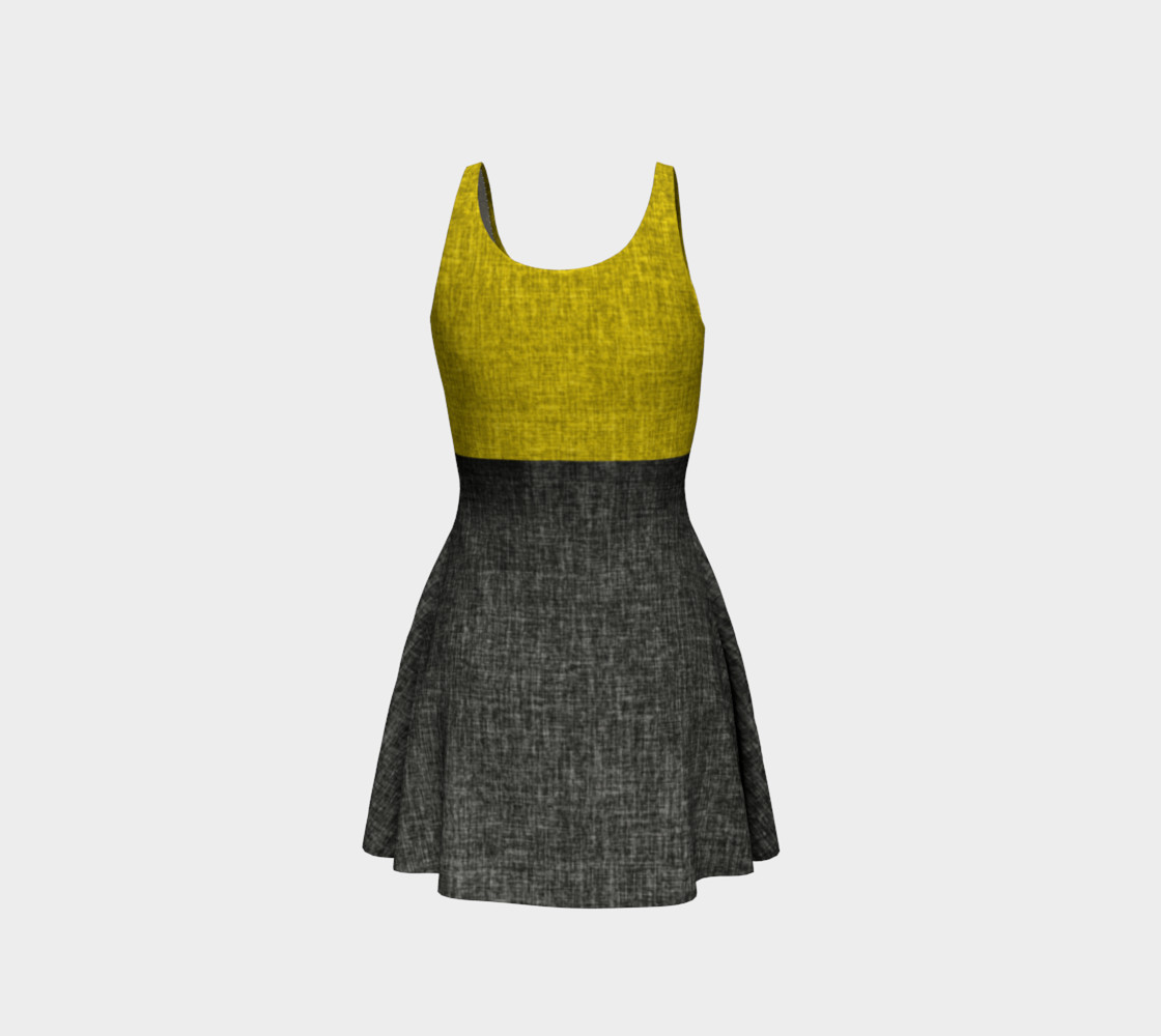 Yellow and Black Linen Classic preview #3
