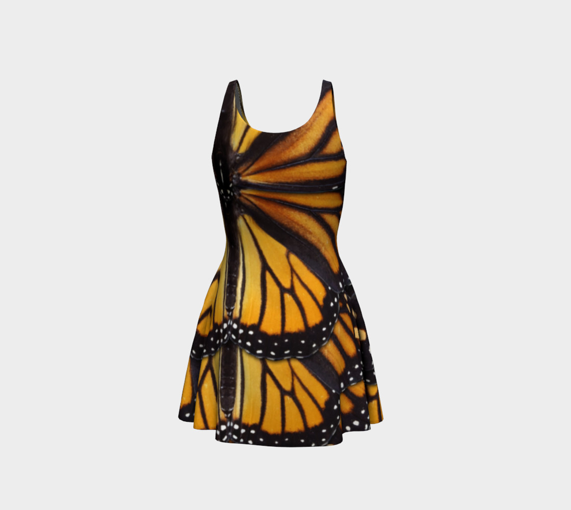 Mondo Monarch Butterfly Flare Dress preview #3