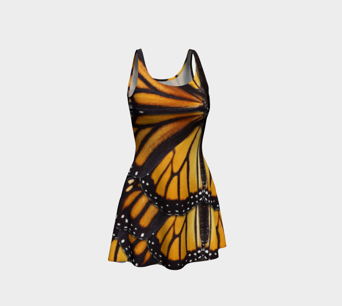 Mondo Monarch Butterfly Flare Dress preview #1