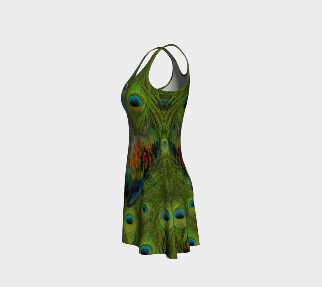Aperçu de Nicobar-Peacock Fantasy Flare Dress #2