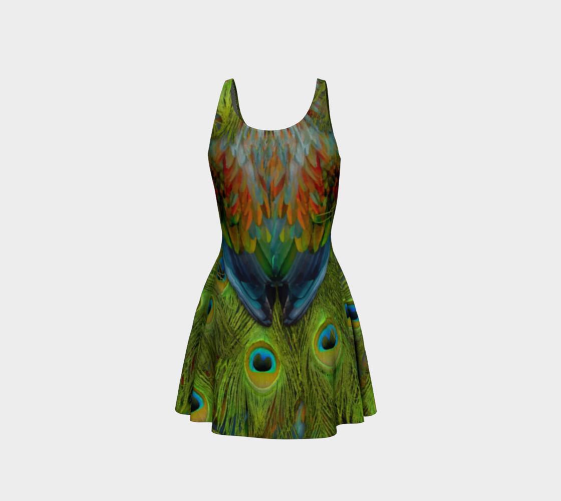 Aperçu de Nicobar-Peacock Fantasy Flare Dress 2 #3