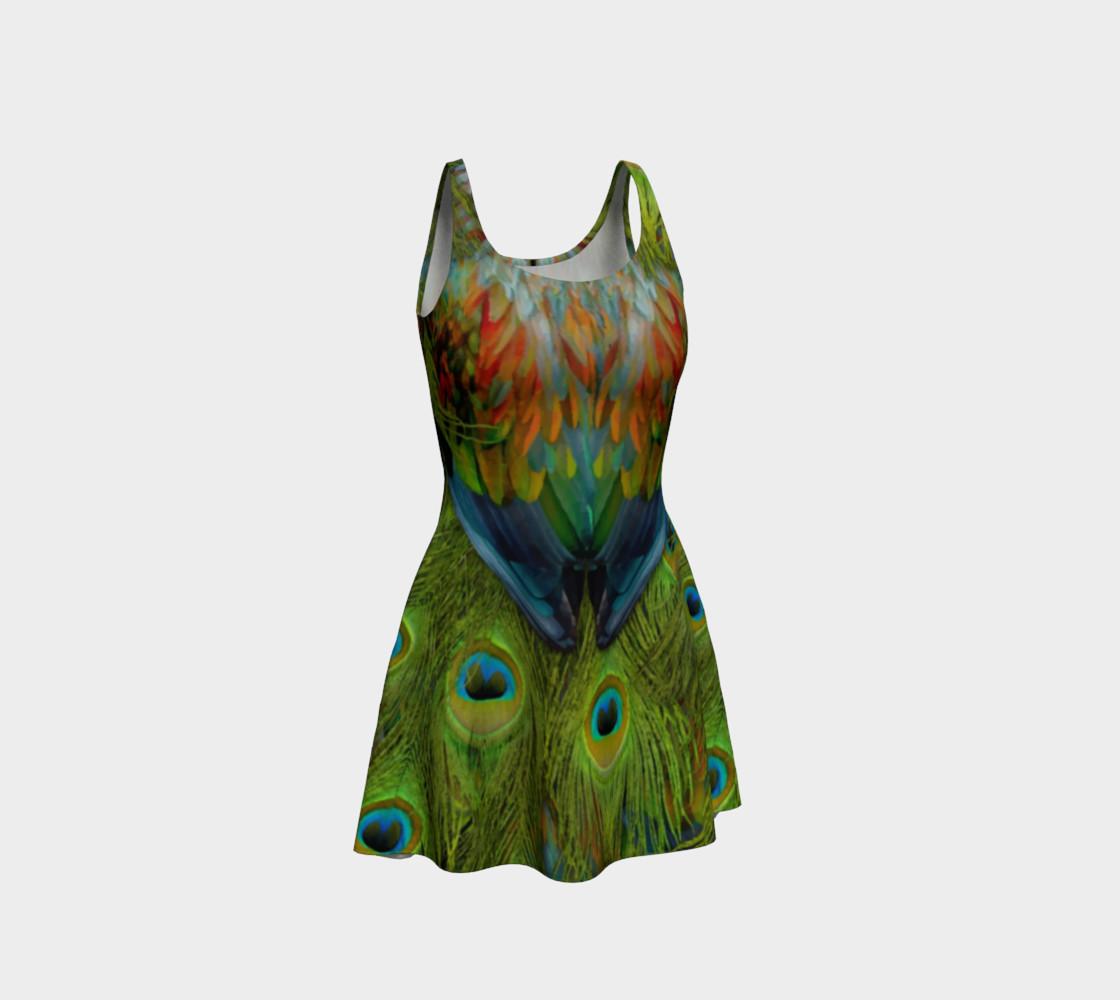 Aperçu de Nicobar-Peacock Fantasy Flare Dress 2 #1