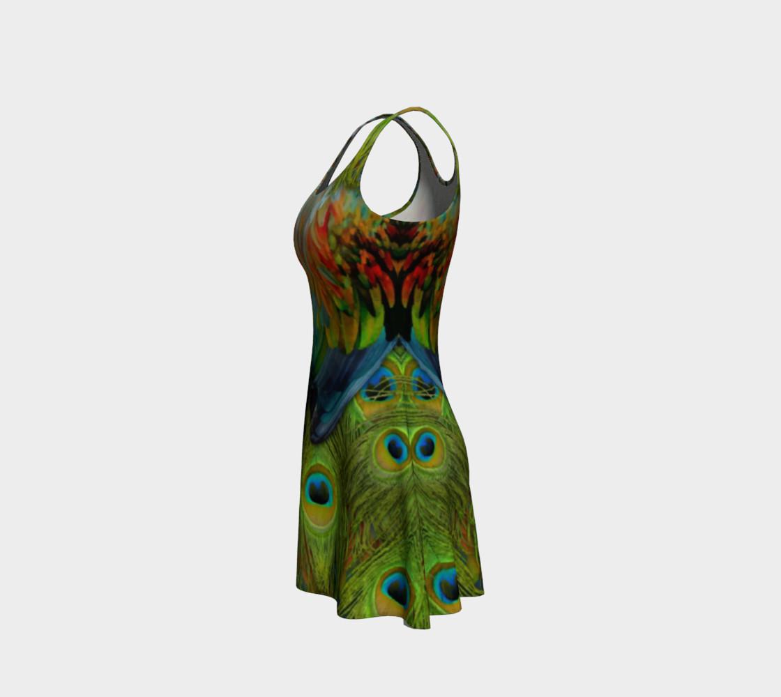 Aperçu de Nicobar-Peacock Fantasy Flare Dress 2 #2