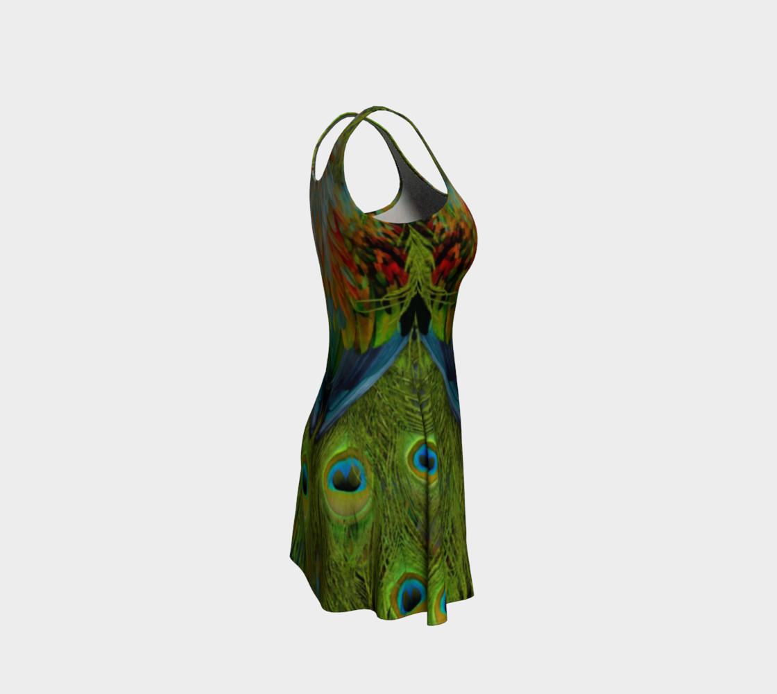Aperçu de Nicobar-Peacock Fantasy Flare Dress 2 #4