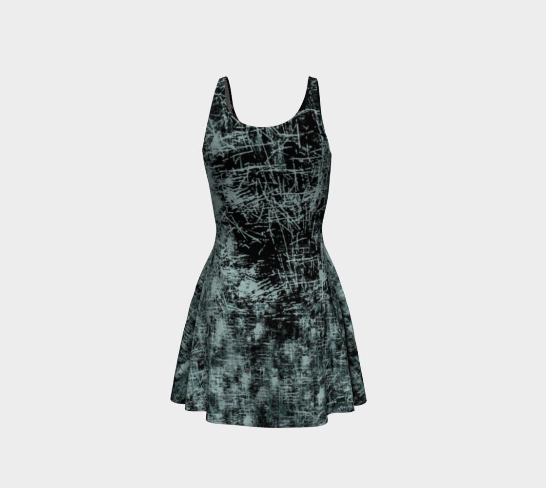 Black Widow Heart Horror Print Dress by Tabz Jones preview #3