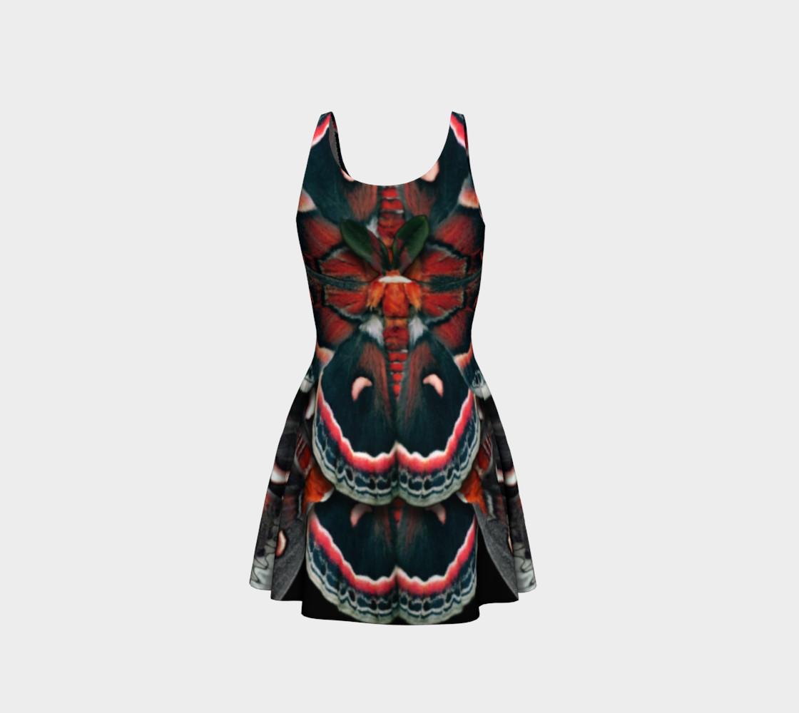Aperçu de Mondo Cecropia Moth Flare Dress 2 #3