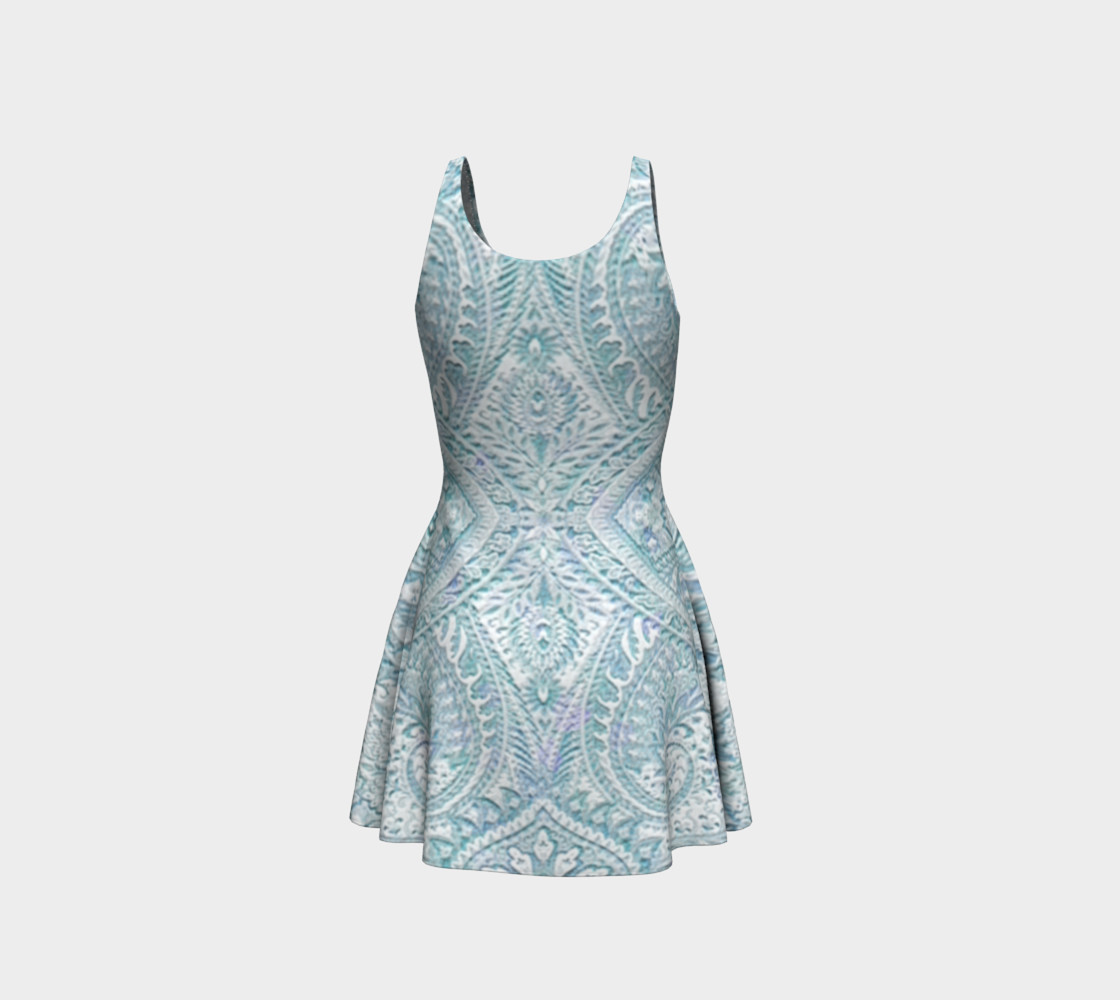 Iced Lace Vintage Print Dress by Tabz Jones preview #3