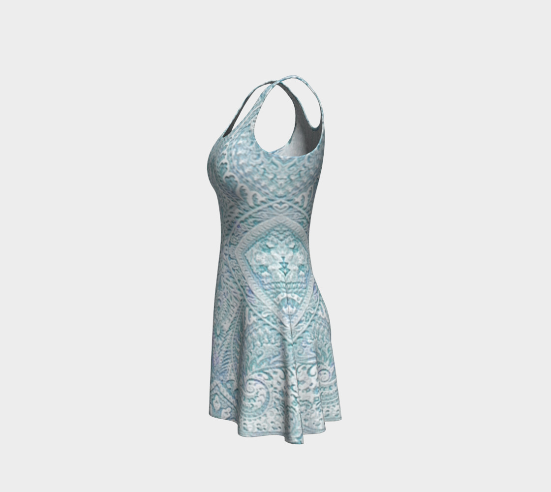 Iced Lace Vintage Print Dress by Tabz Jones preview #2