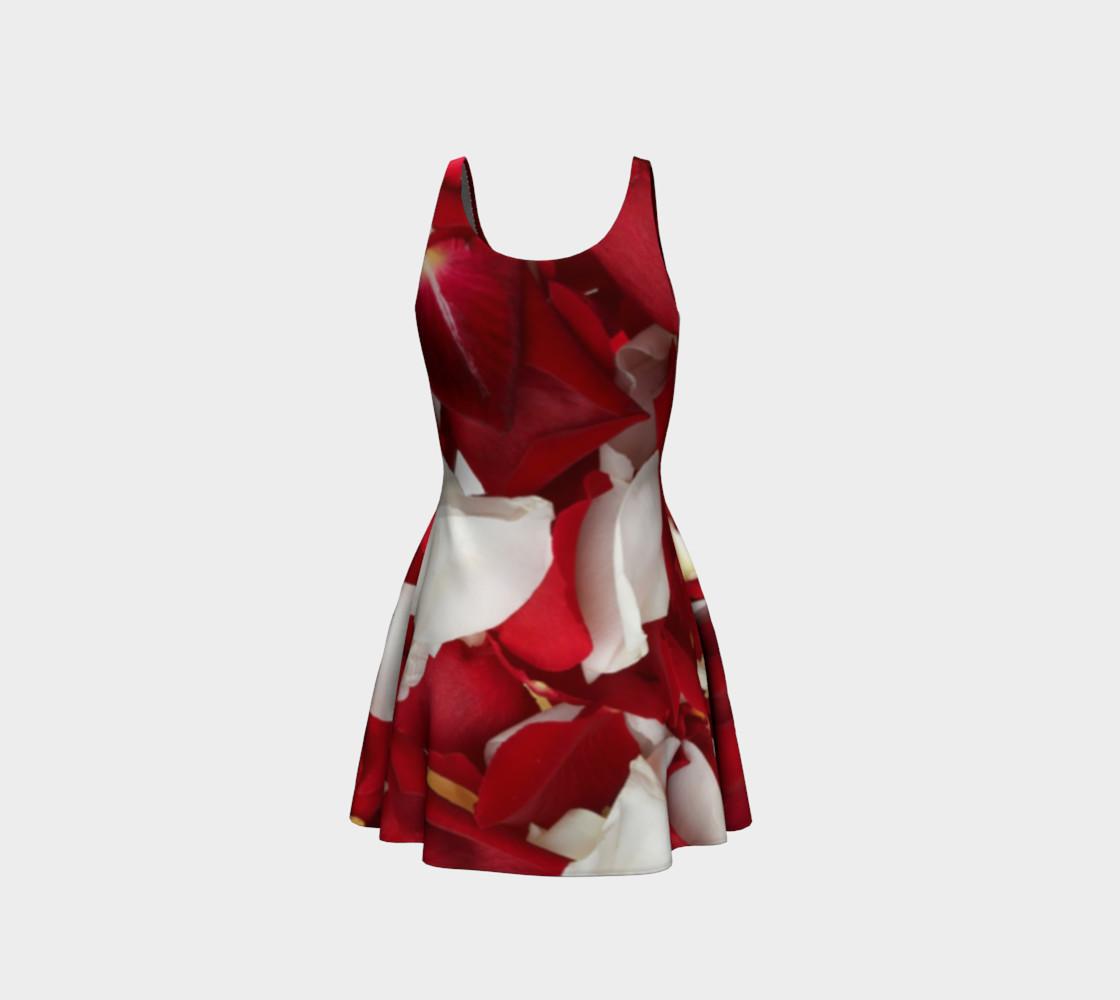 """Rose Petals"" Flare Dress preview #3"