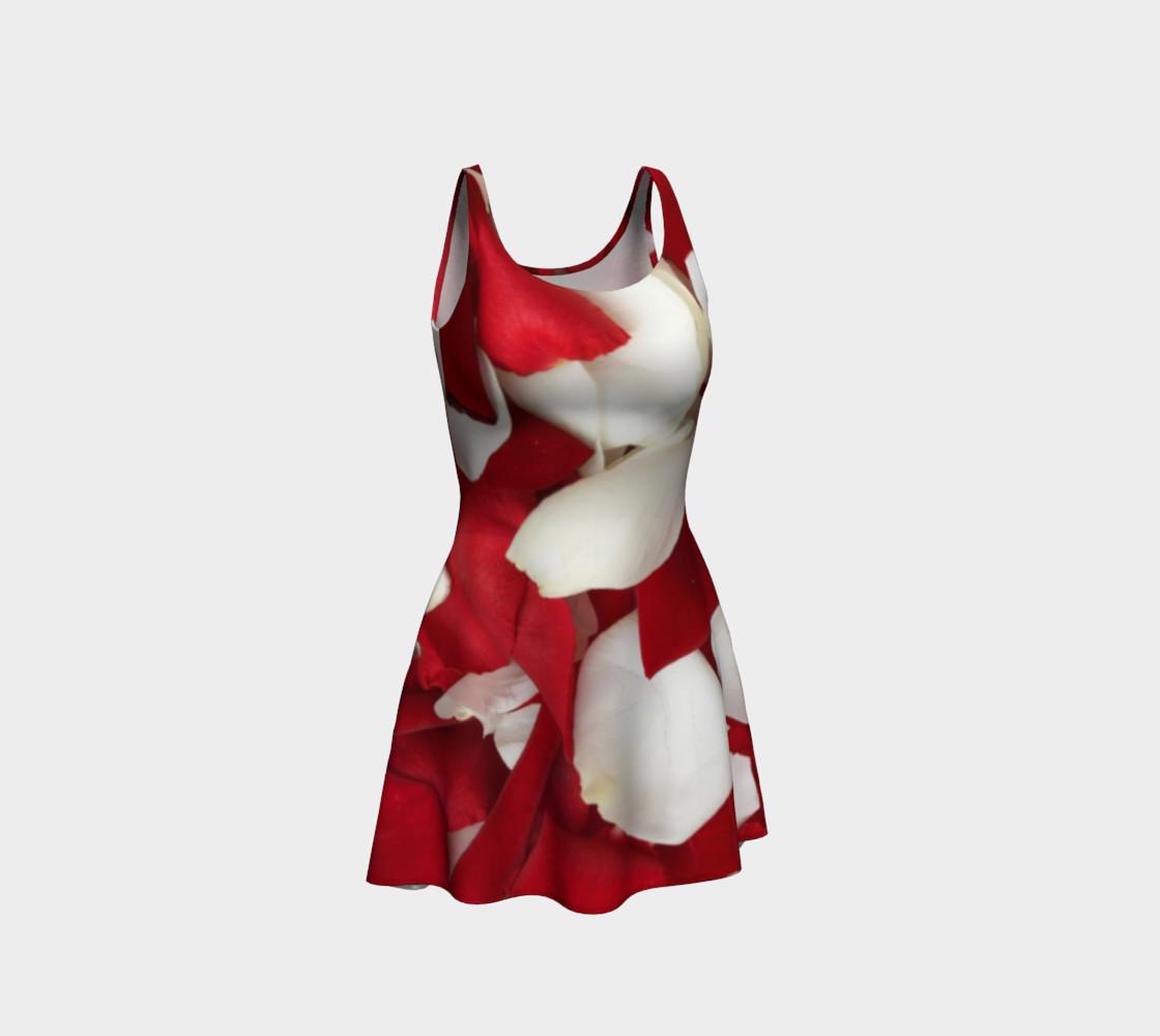"""Rose Petals"" Flare Dress preview #1"