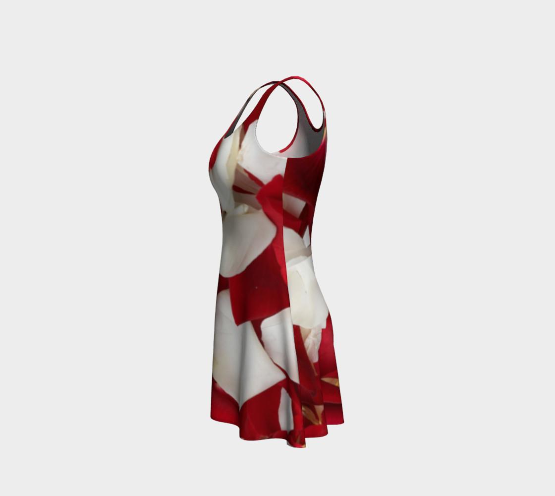"""Rose Petals"" Flare Dress preview #2"