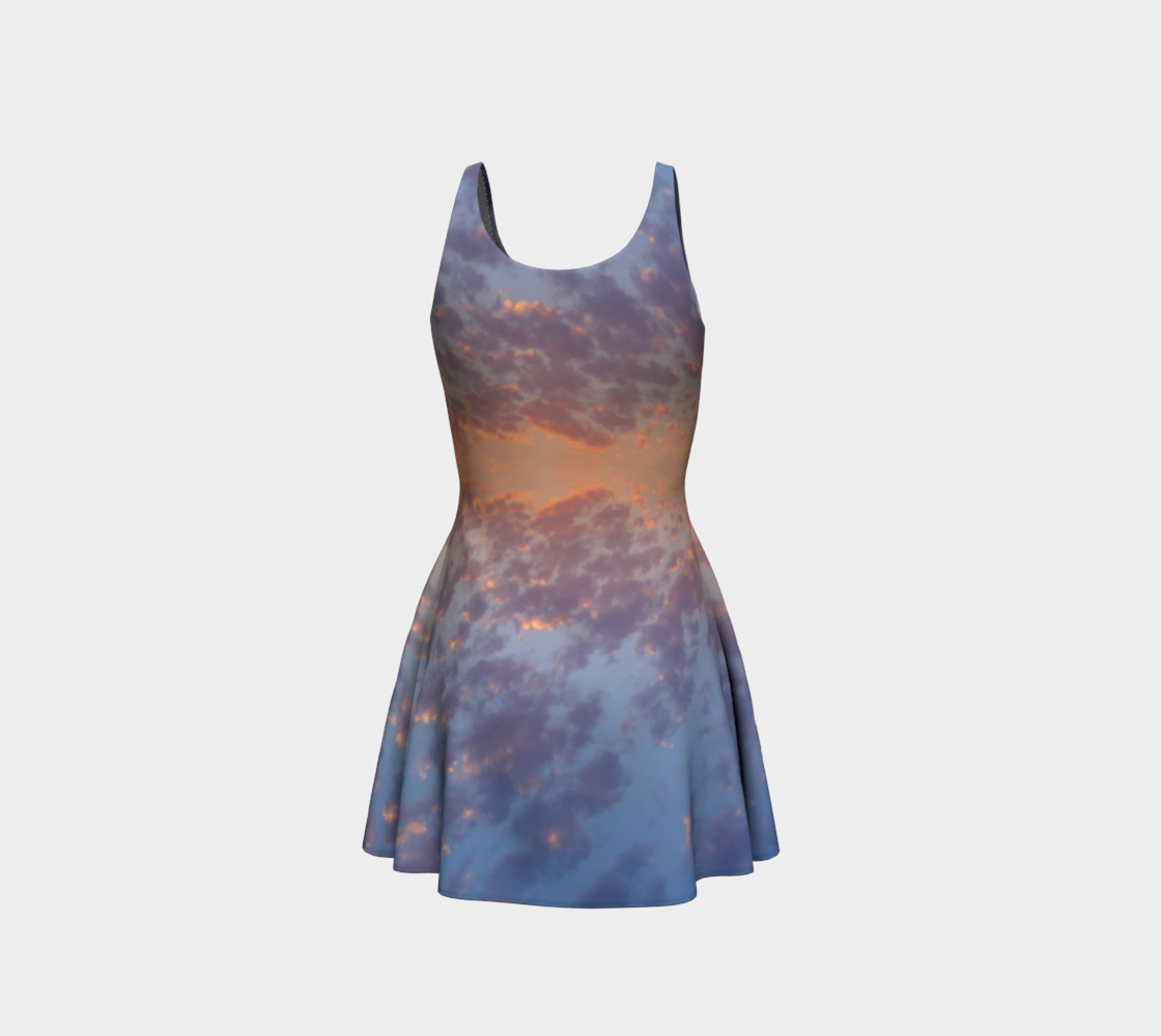 Endless Sky Flare Dress preview #3