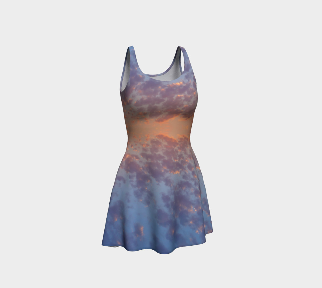 Endless Sky Flare Dress preview #1