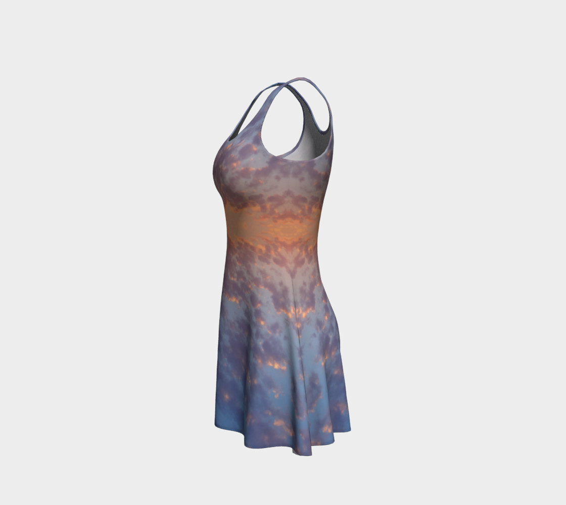 Endless Sky Flare Dress preview #2
