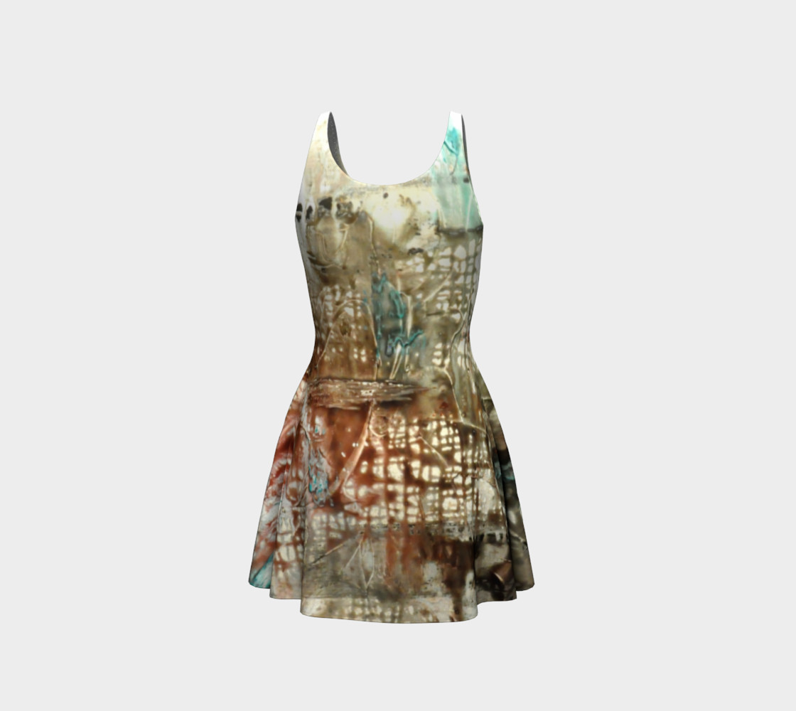 Matt LeBlanc Art Flare Dress - Design 004 preview #3