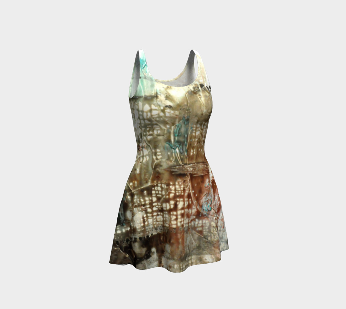 Matt LeBlanc Art Flare Dress - Design 004 preview #1