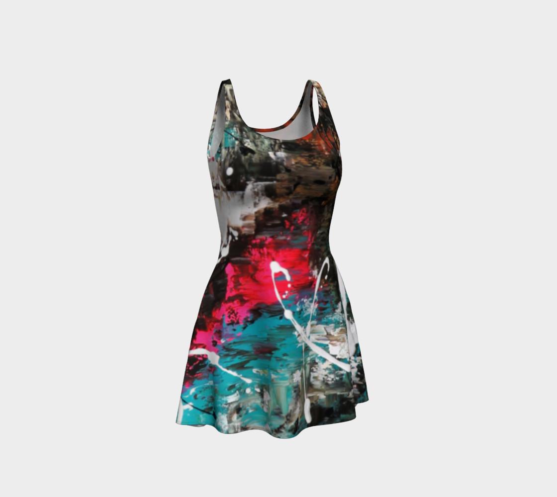 Aperçu de Matt LeBlanc Art Flare Dress - Design 007 #1
