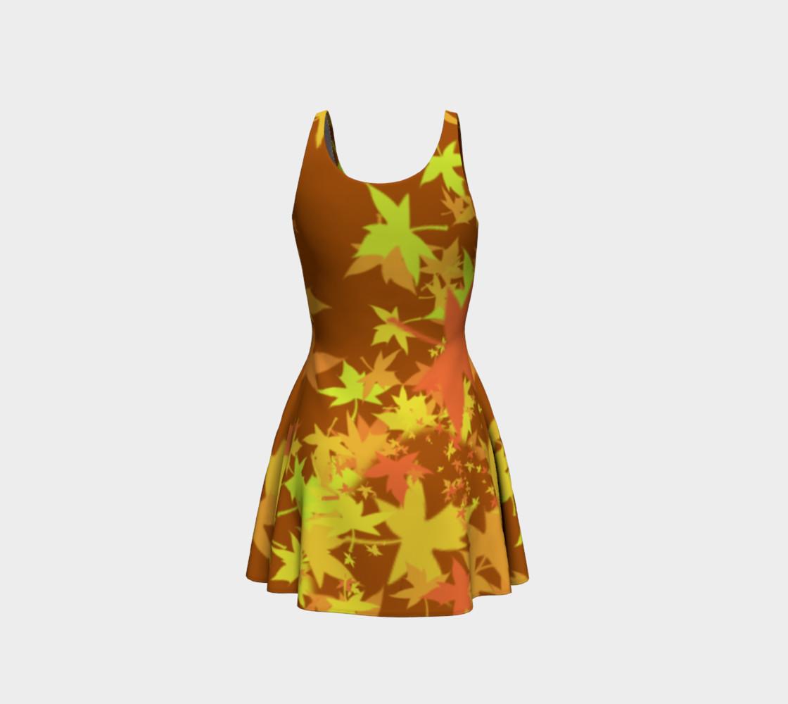Autumn Pumpkins  Halloween Dress by Tabz Jones  preview #3