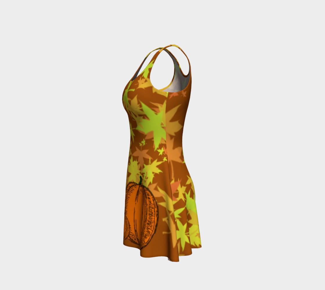 Autumn Pumpkins  Halloween Dress by Tabz Jones  preview #2