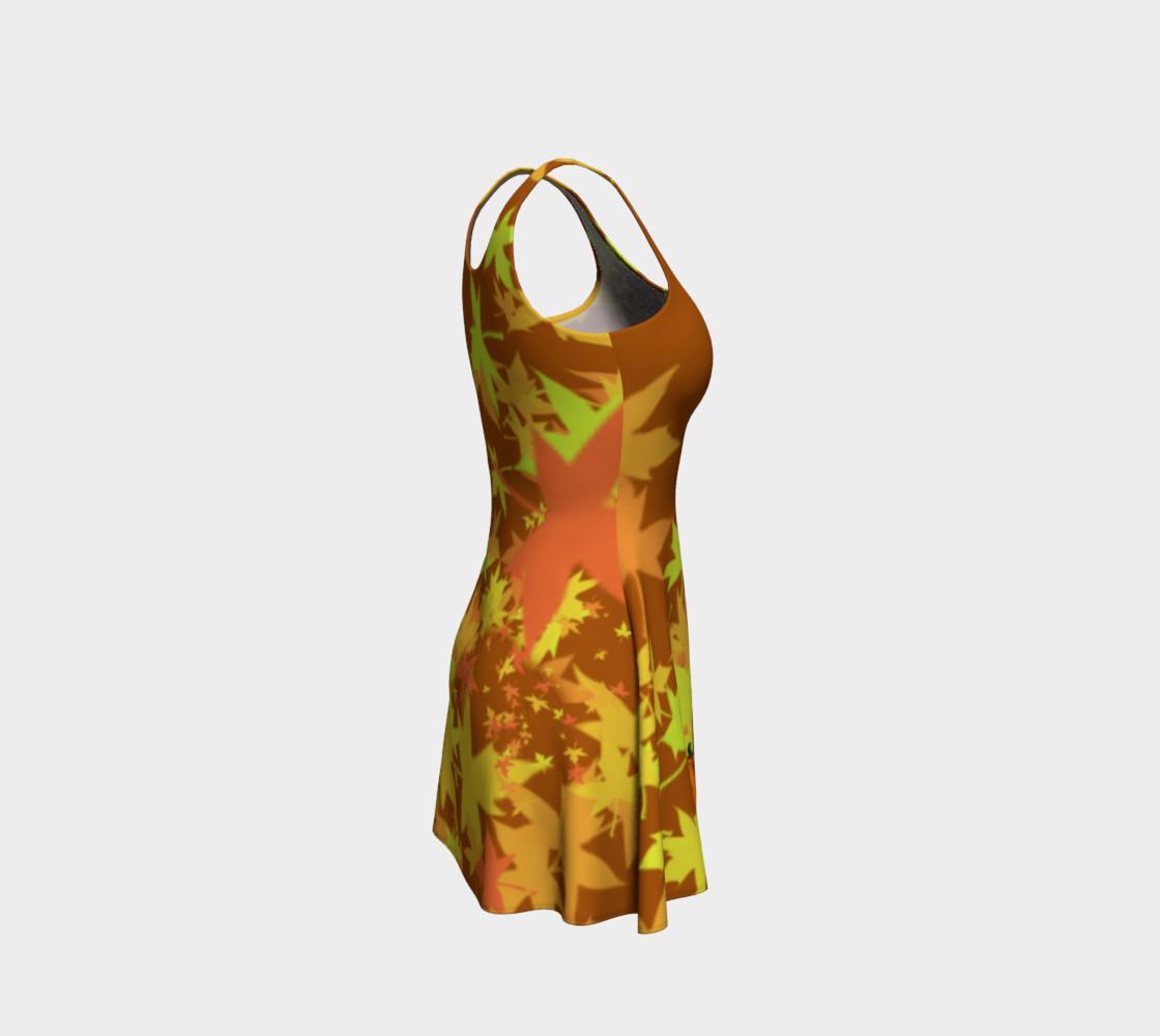 Autumn Pumpkins  Halloween Dress by Tabz Jones  preview #4