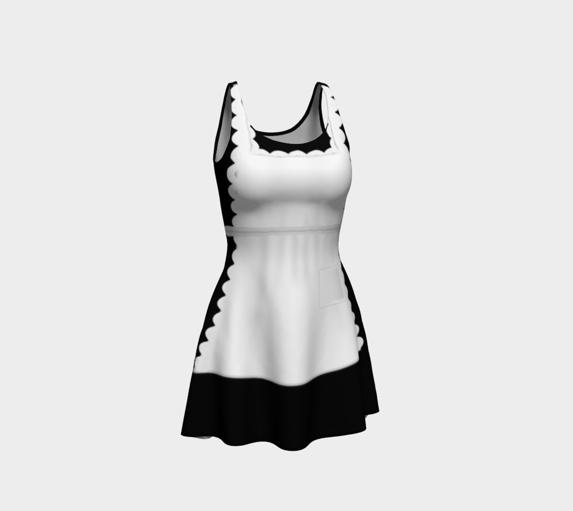 French Maid Cosplay dress by Tabz Jones preview #1