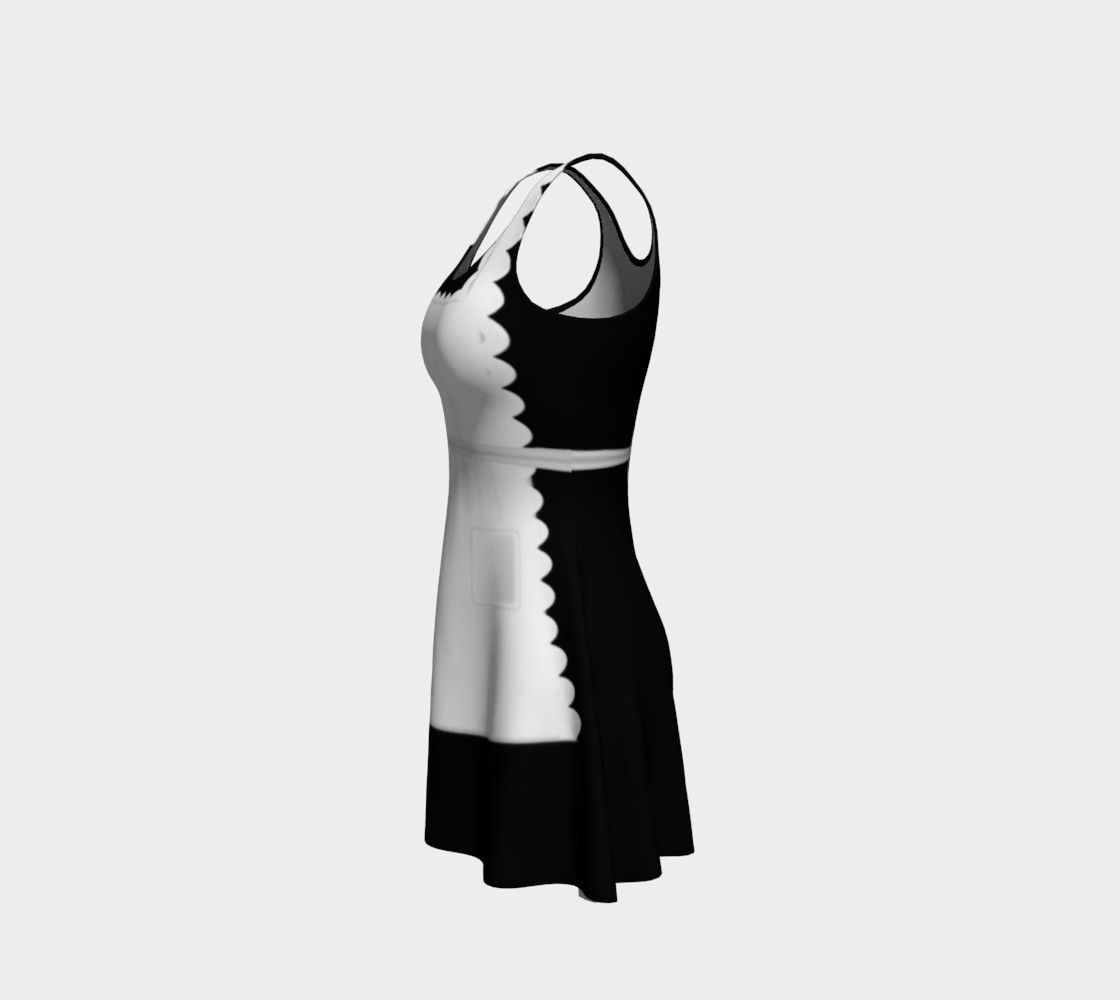 French Maid Cosplay dress by Tabz Jones preview #2