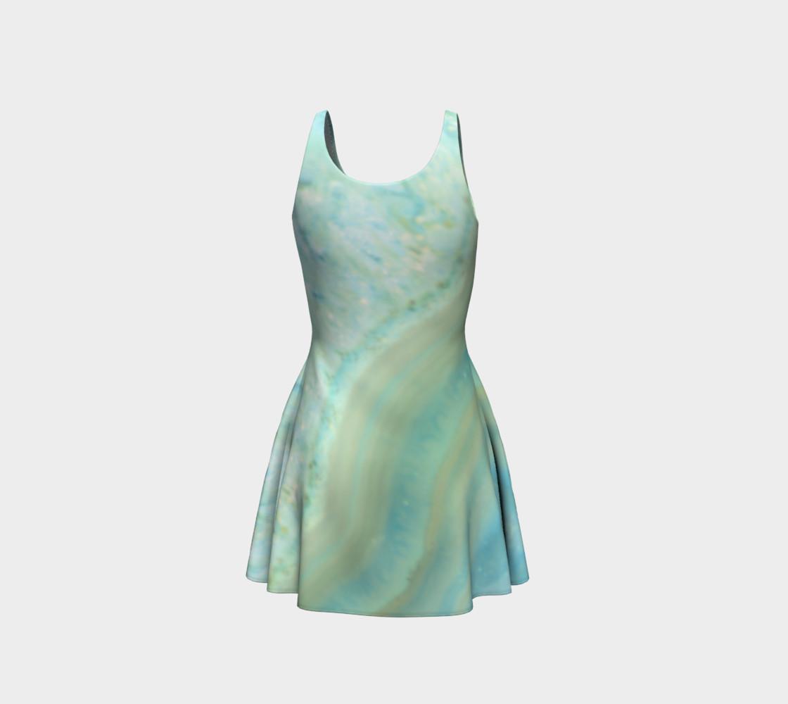 Aperçu de Pretty Powder Blue Marble Pattern #3
