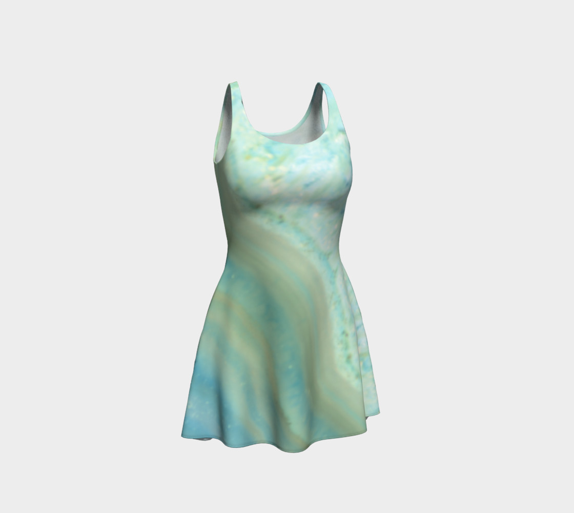 Aperçu de Pretty Powder Blue Marble Pattern #1