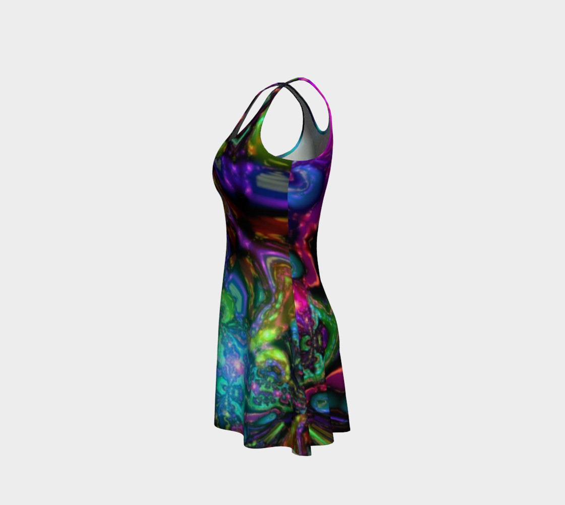 Galaxy Flare Dress preview #2