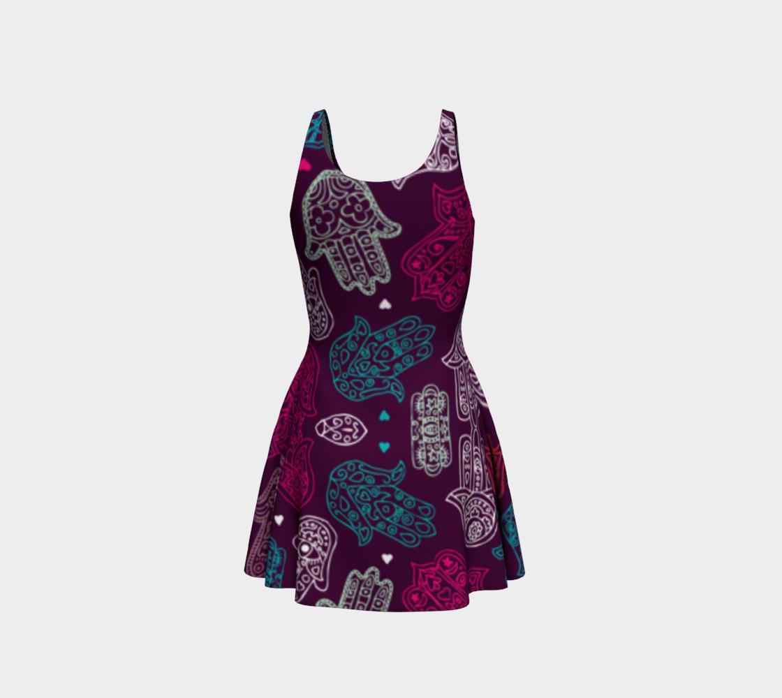 Hamsa Flair Dress preview #3