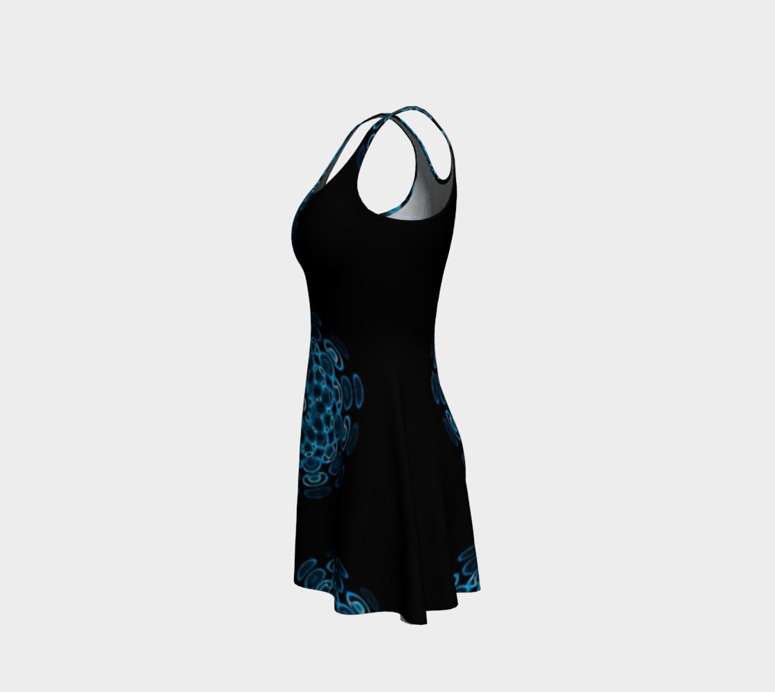 Blue Sound Flare Dress by Danita Lyn preview #2