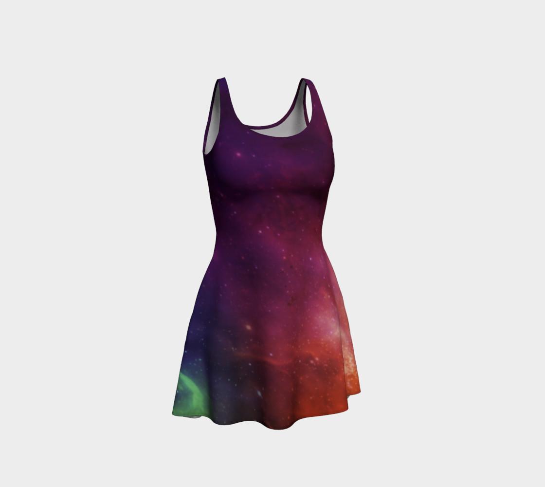 Aurora Portal Flare Dress by Danita Lyn preview #1
