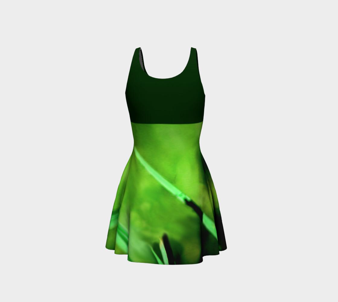 Aperçu de Butterfly on Grass Dress  - Green #3