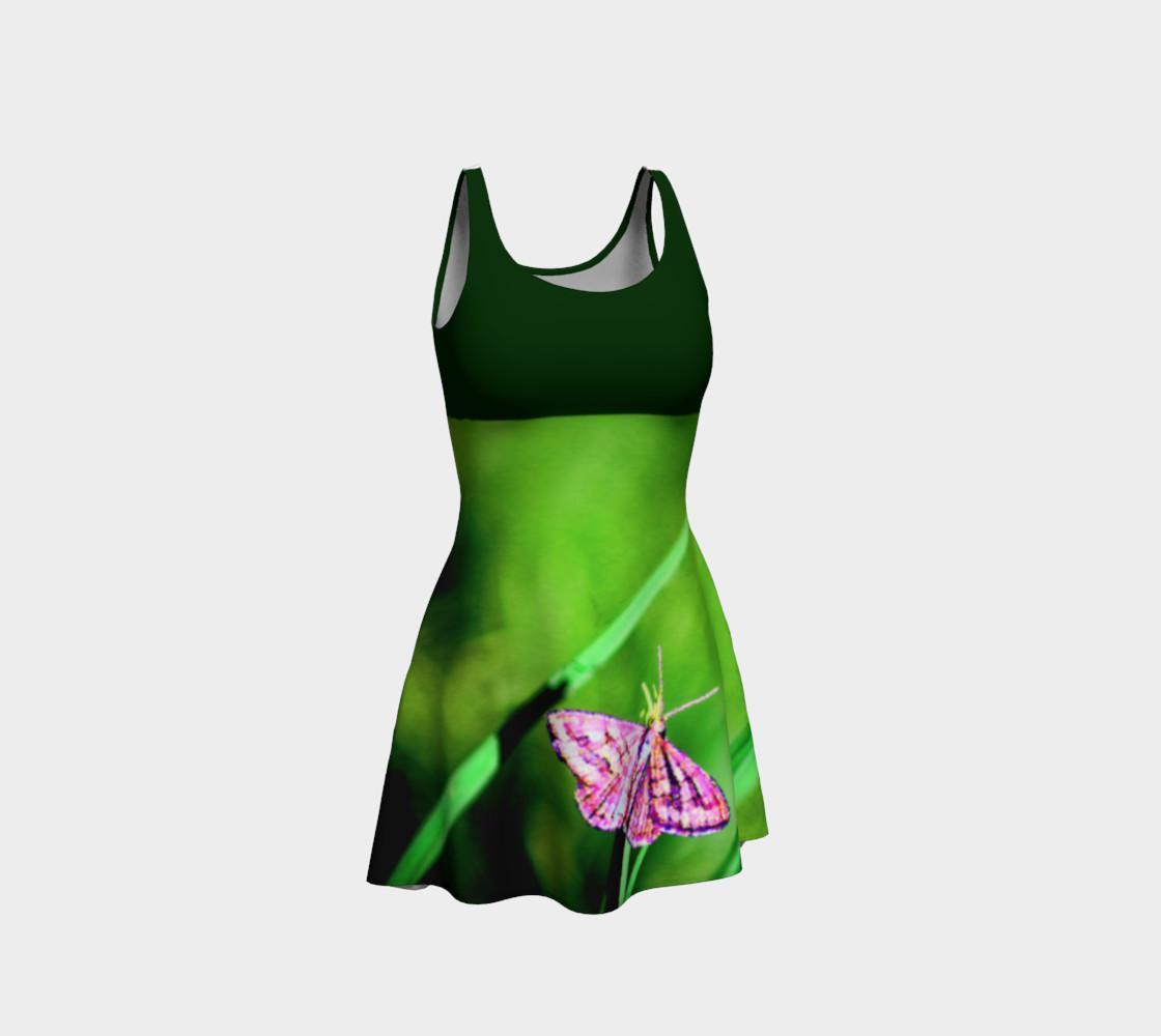 Aperçu de Butterfly on Grass Dress  - Green #1