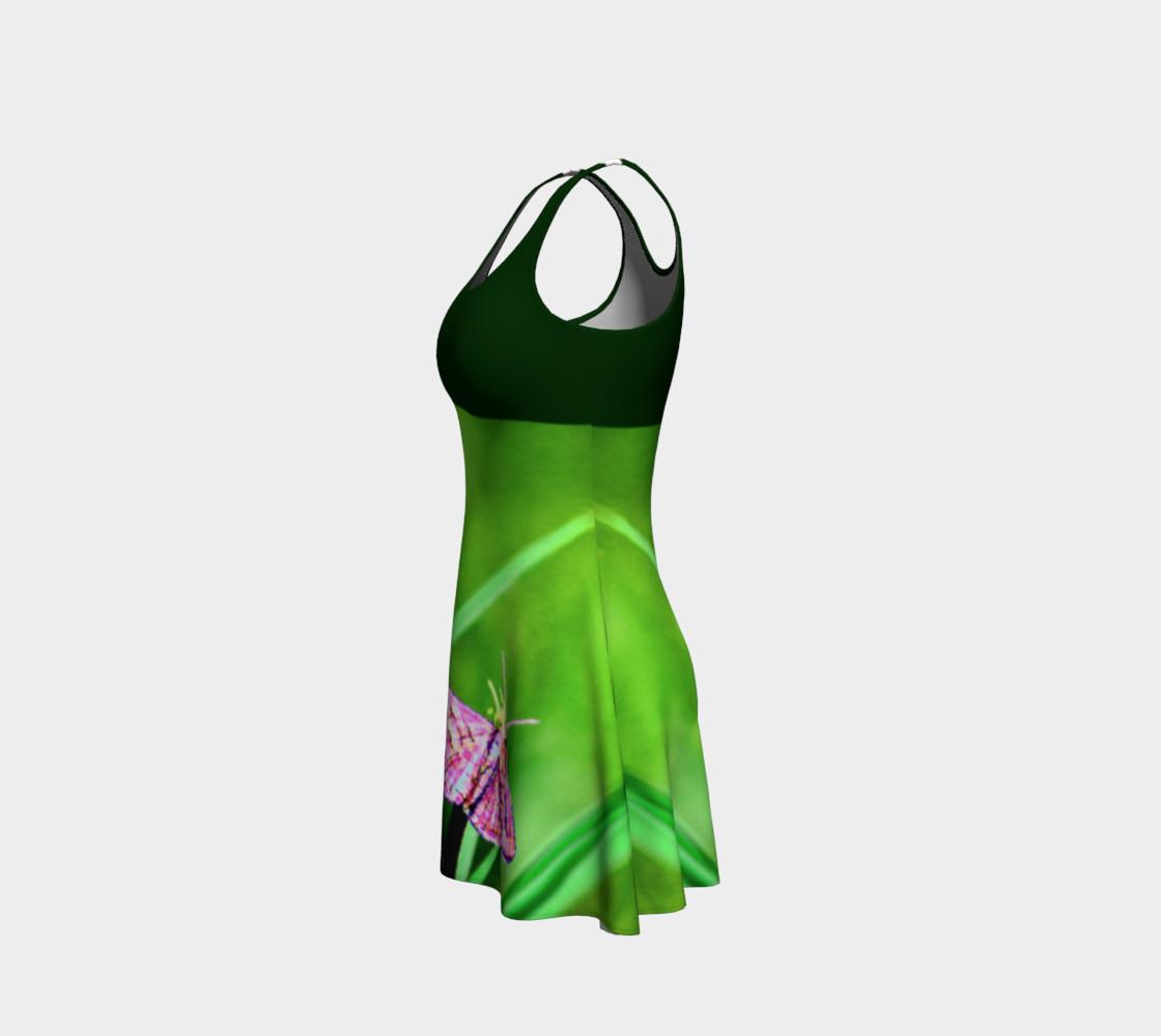 Aperçu de Butterfly on Grass Dress  - Green #2