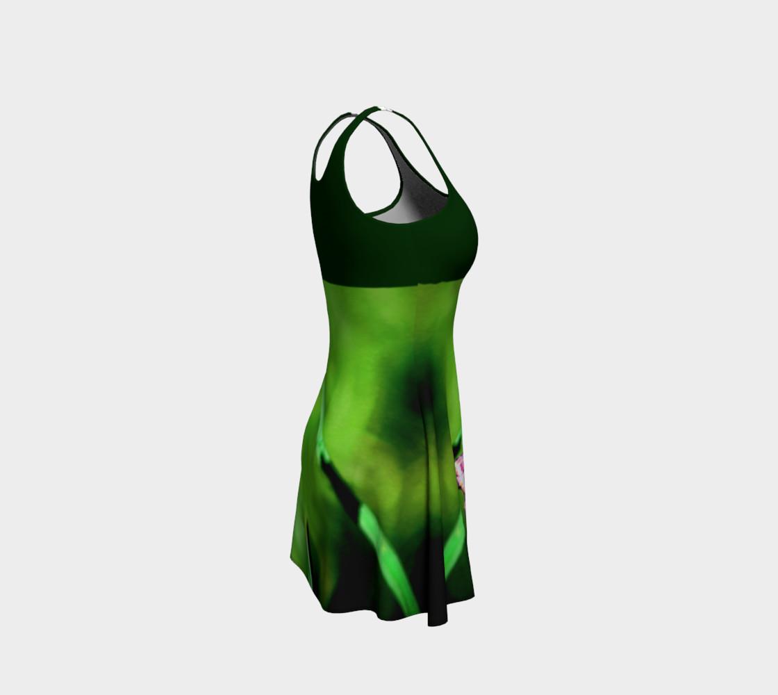 Aperçu de Butterfly on Grass Dress  - Green #4