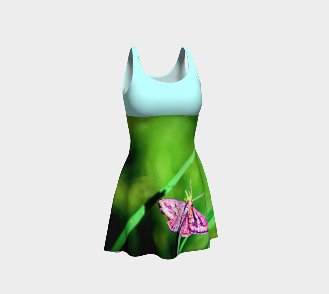 Aperçu de Butterfly on Grass Dress  - Mint #1