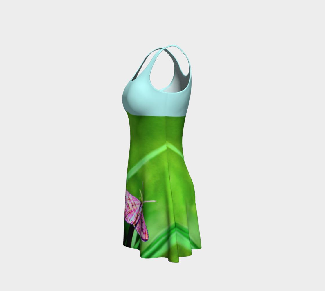 Aperçu de Butterfly on Grass Dress  - Mint #2