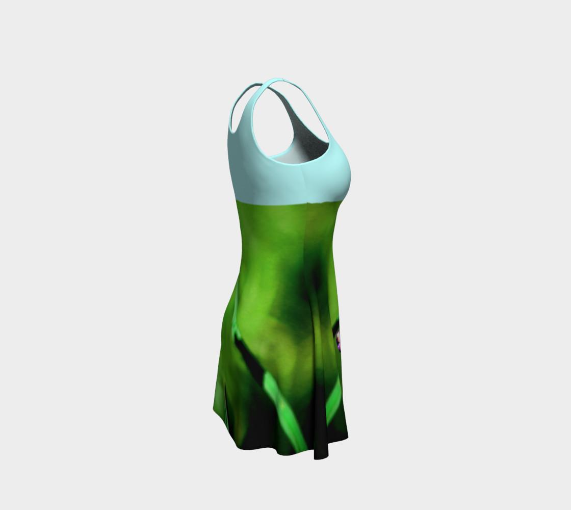 Aperçu de Butterfly on Grass Dress  - Mint #4
