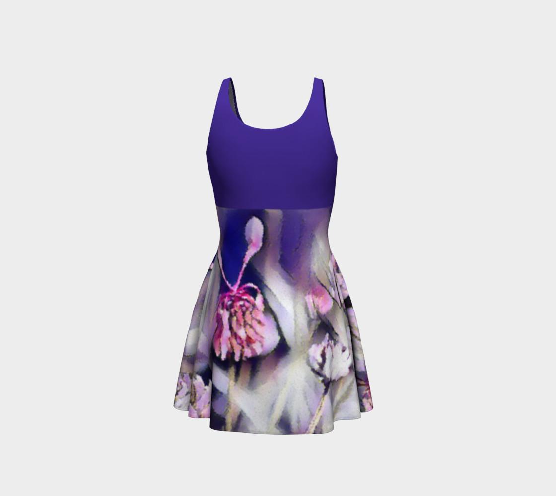 Aperçu de Bee Behind a Flower Dress - Blue #3