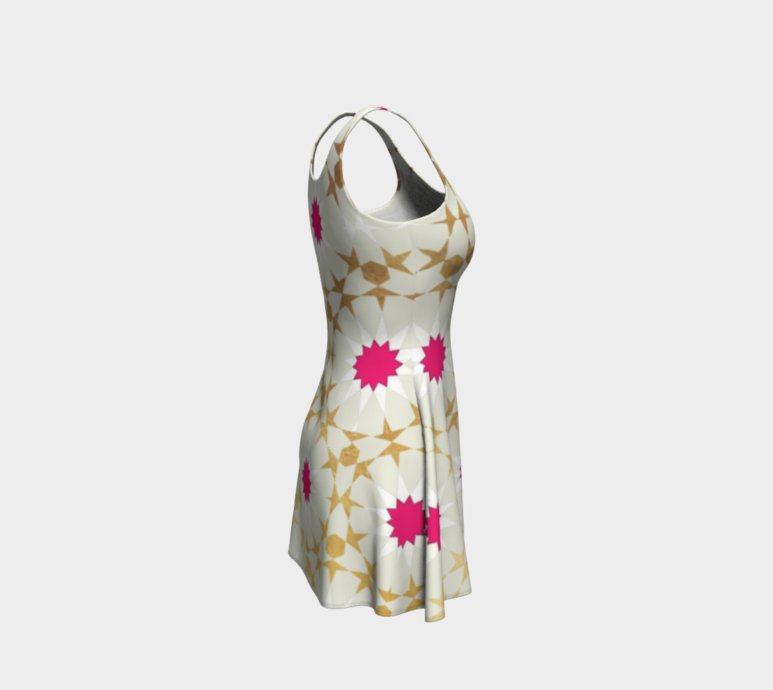 Aperçu de Moroccan Star Dress Off White #4