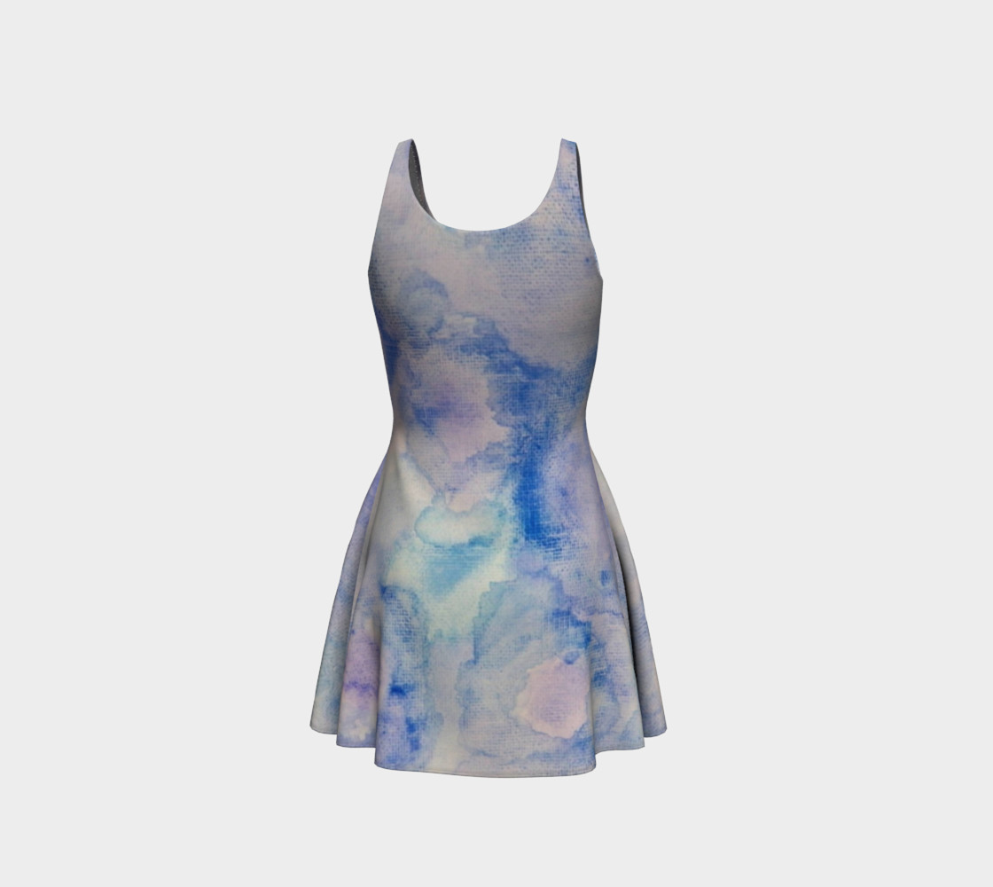 Danse Avec les Fleurs Flare Dress preview #3