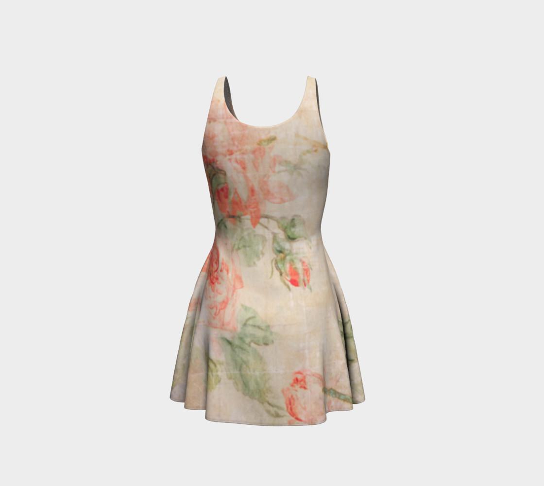Vintage Wallpaper Flare Dress preview #3