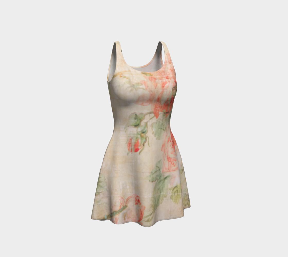Vintage Wallpaper Flare Dress preview #1