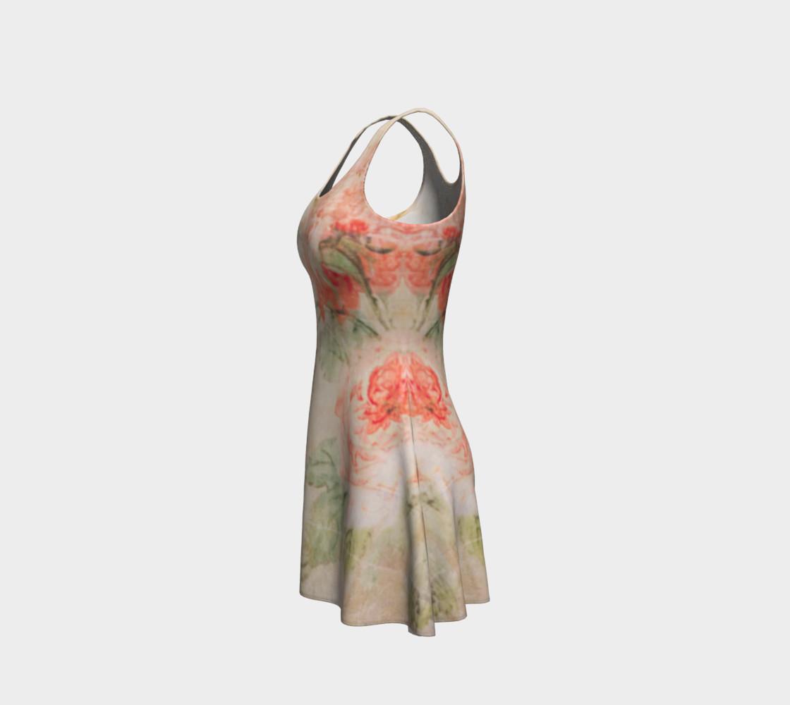 Vintage Wallpaper Flare Dress preview #2