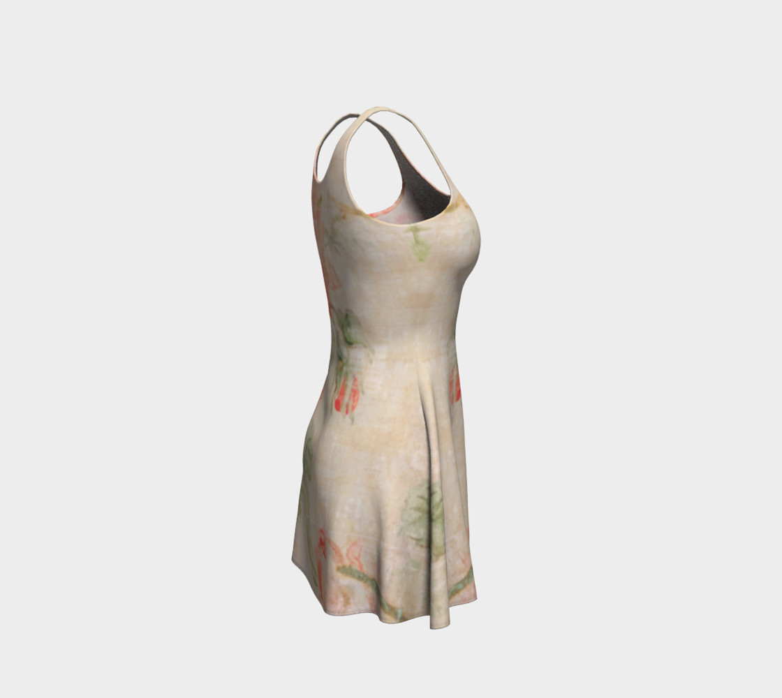 Vintage Wallpaper Flare Dress preview #4