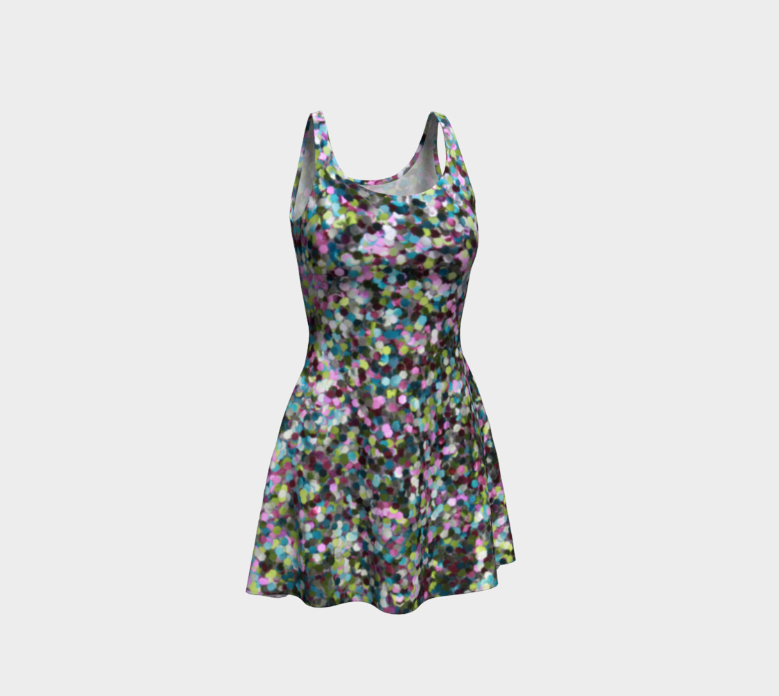 Flare Dress Glitters Miniature #2