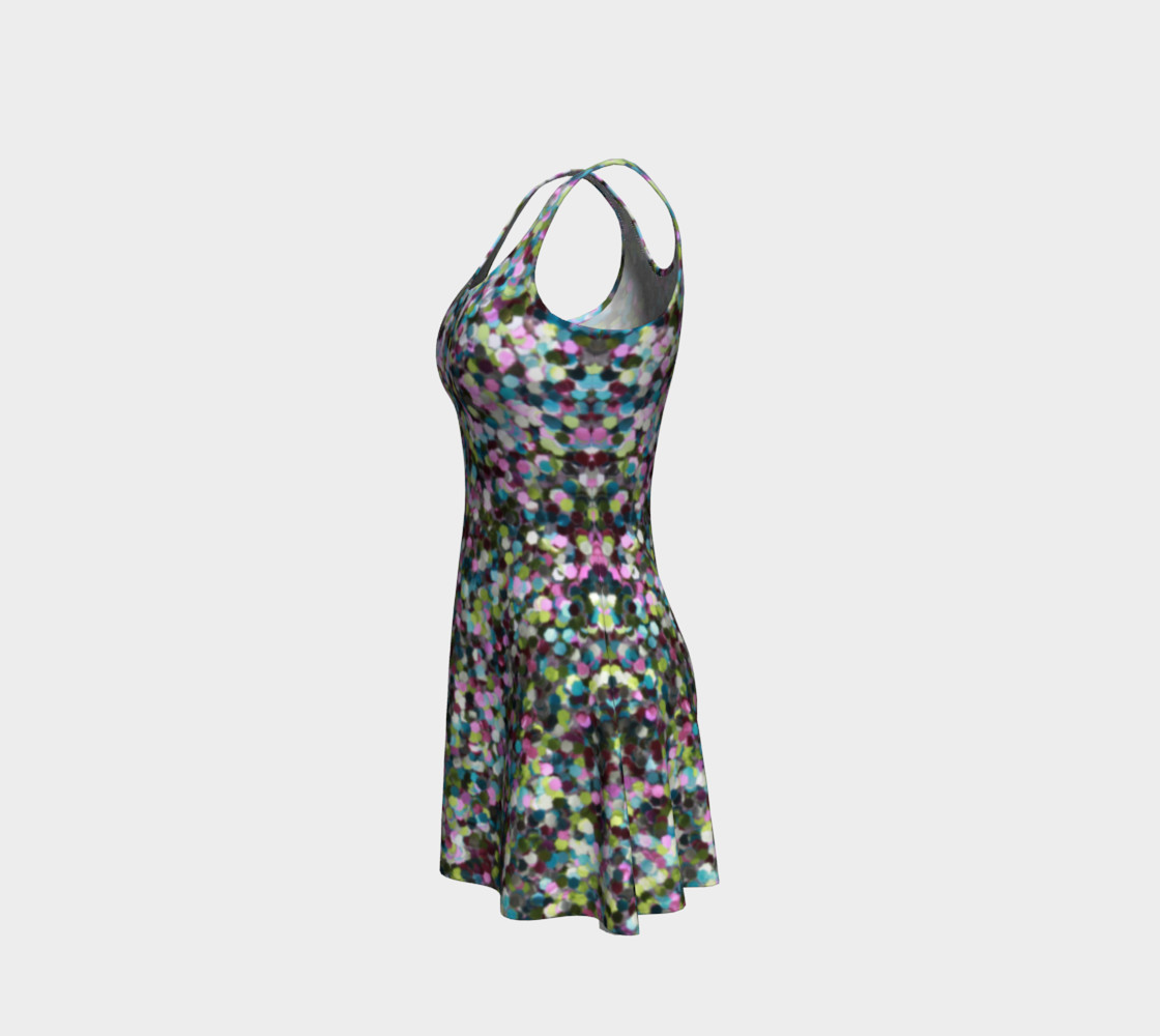 Flare Dress Glitters Miniature #3